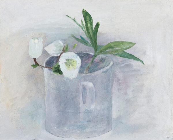 NEWCOMB Tessa (b.1955) - 'Christmas Rose'.