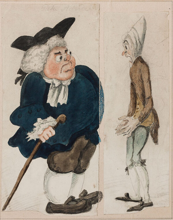 NEWTON Richard (1777-1798) - 'Take Advice'.