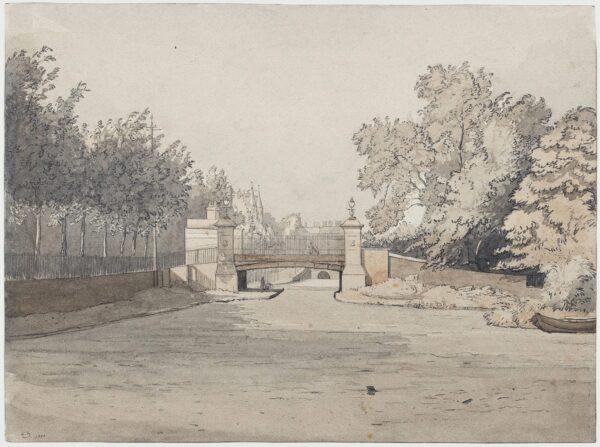 NEWTON Algernon R.A. (1880-1968) - Warwick Avenue Bridge No.