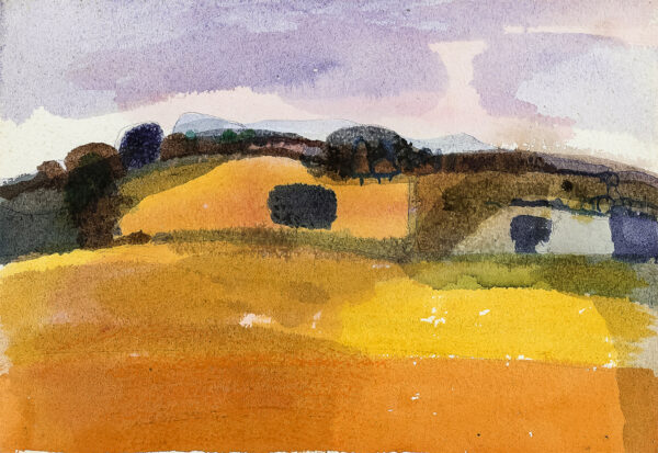 NICHOLSON Roger (1922-1986) - Summer of '76, Kent landscape.