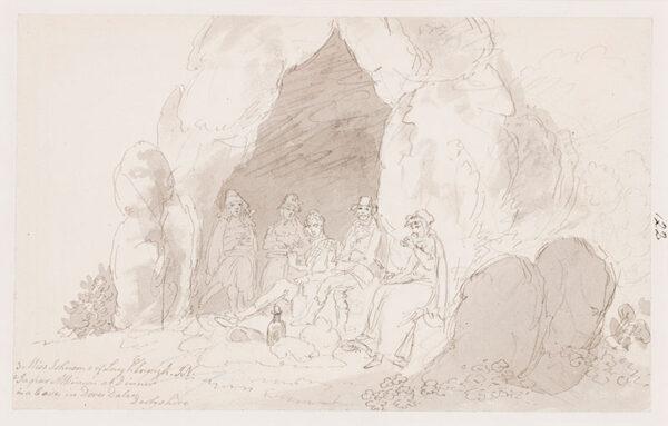NIXON John (c.1750-1818) - Derbyshire: Dovedale.