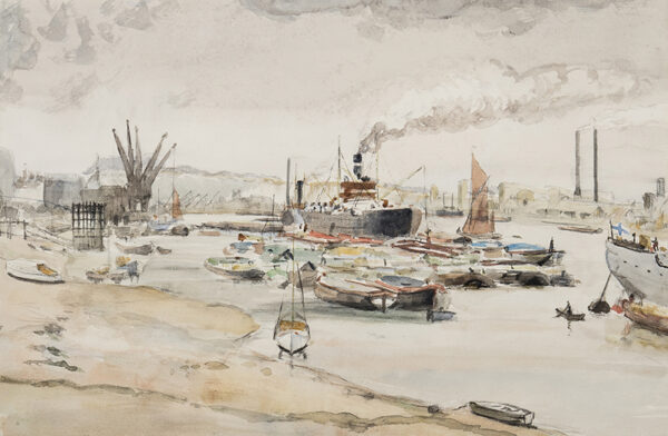 NIXON Job (1891-1938) - Plymouth harbour.