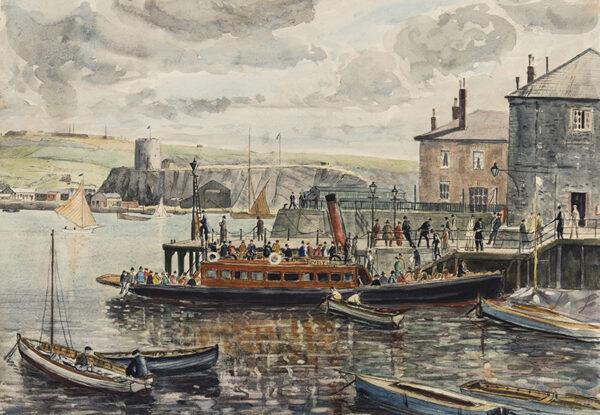 NIXON Job (1891-1938) - A Cornish Harbour.