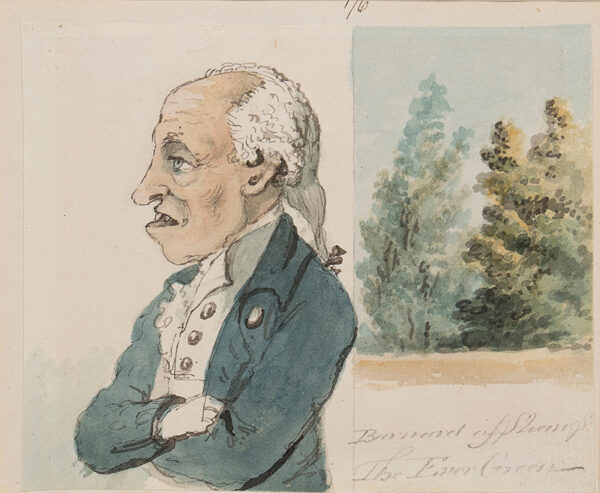 NIXON John (c.1755-1818) - 'Barnard of (?) / The Ever Green'.