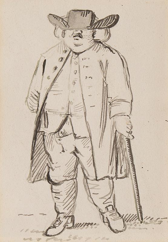 NIXON John (c.1755-1818) - A shady hat.