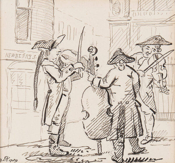 NIXON John (1755-1818) - Street Musicians.