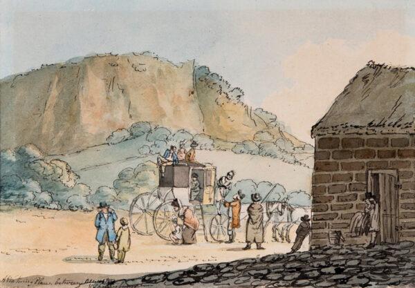 NIXON John (c.1755-1818) - 'A Watering Place between Oswestry / & Shrewsbury.