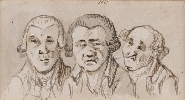 NIXON John (1760-1818) - Three suspicious characters.