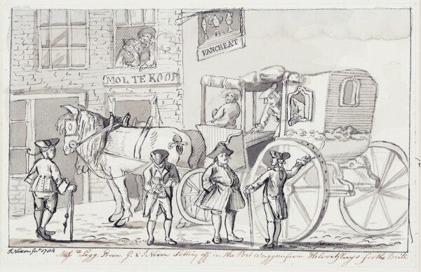 NIXON John (c.1755-1818) - 'Mssrs Legg.