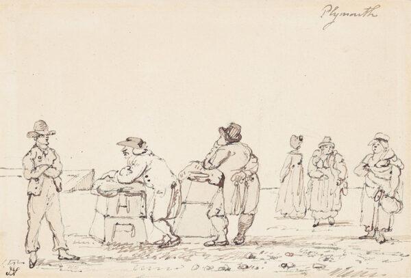 NIXON John (c.1755-1818) - 'Plymouth'.