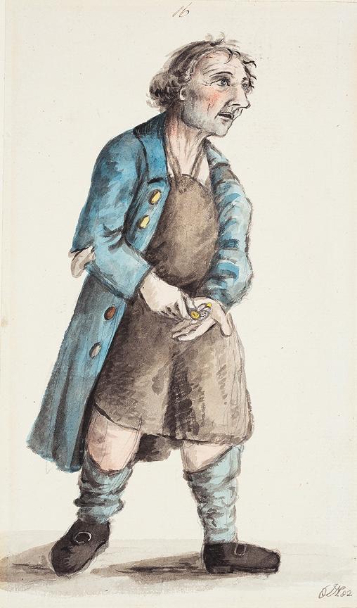 NIXON John (c.1755-1818) - Hard Times.