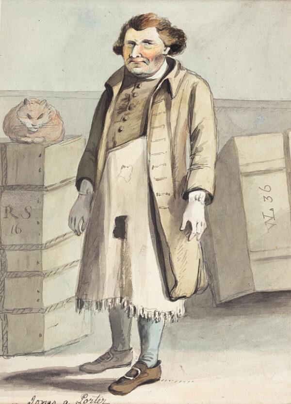 NIXON John (c.1755-1818) - 'Jones, A Porter'.