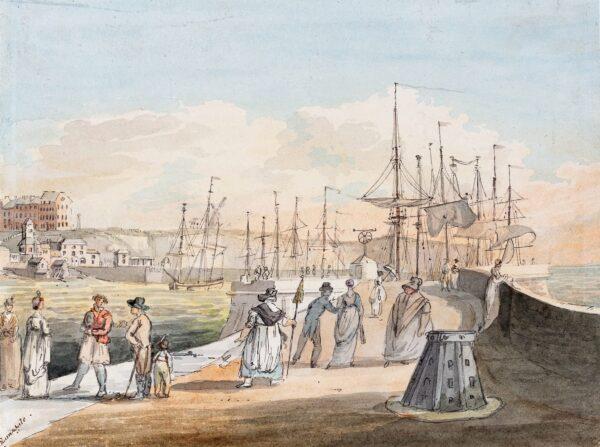 NIXON John (1755-1818) - 'Ramsgate'.