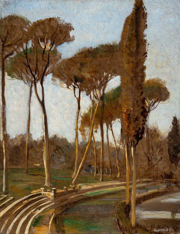 NOBLE Robert R.A. R.S.A. (1857-1917) - 'At Rome'.