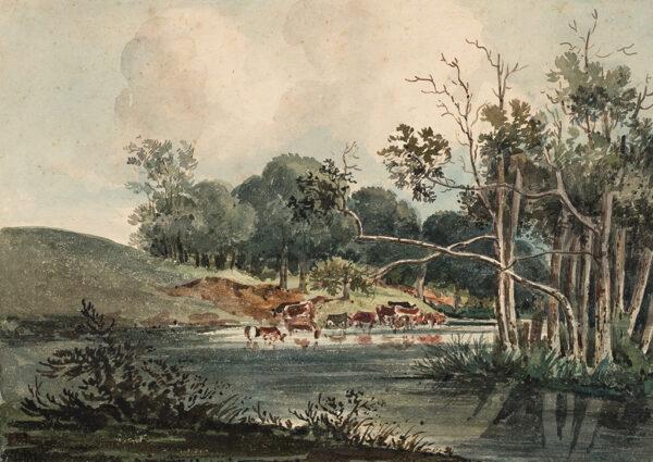 NORFOLK (subject) 1816. - 'In Felbrig (sic) Park'.