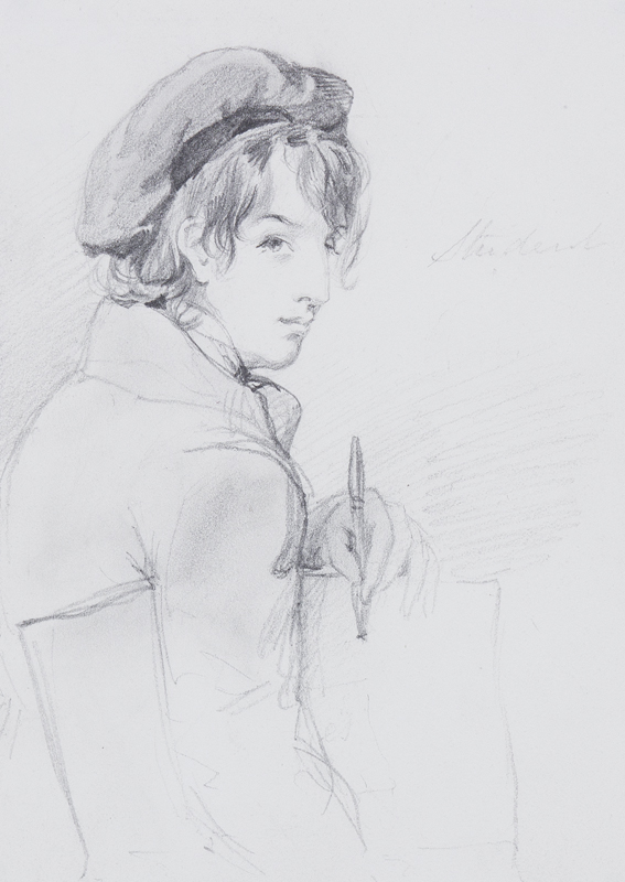 NOVELLO Edward Petre (1813-1836) (Attributed to) - 'Student'.