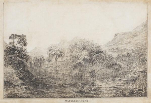 OAKLEY Captain Robert Carter (1795-1835) (20th Regiment of Foot) - 'Napoleon's Tomb', St Helena.