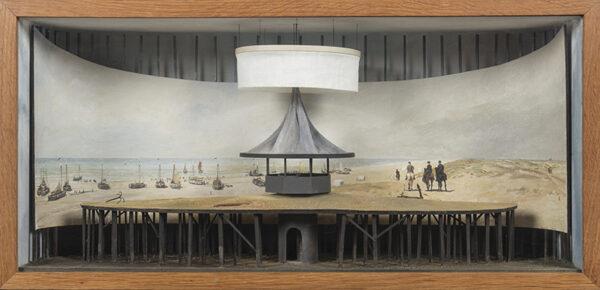 OAKLEY Charles (b.1925) - Construction: the Scheveningen Panorama.
