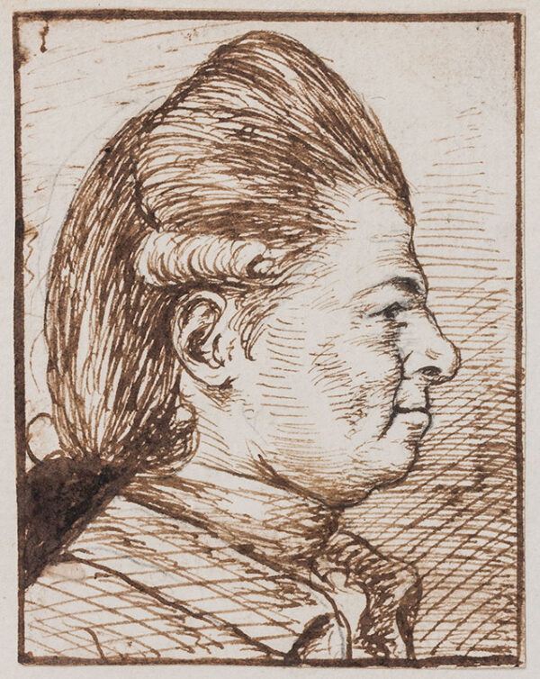 ORDE Thomas (1st Lord Bolton) (1746-1807) - Profile of a Gentleman.