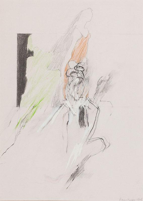 ORGAN Bryan (b.1935) - 'Models: One kneeling'.