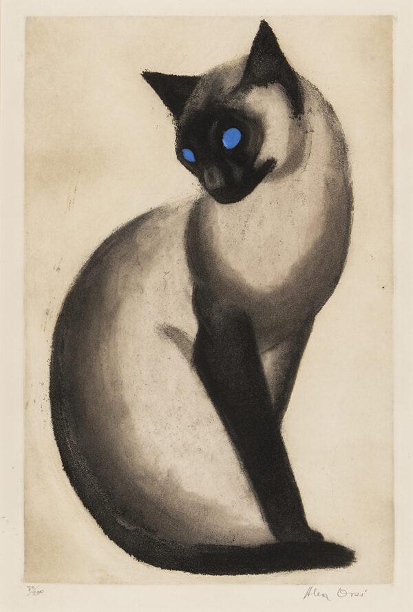 ORSI Alex (late 20th century) - 'Le Siamois'.