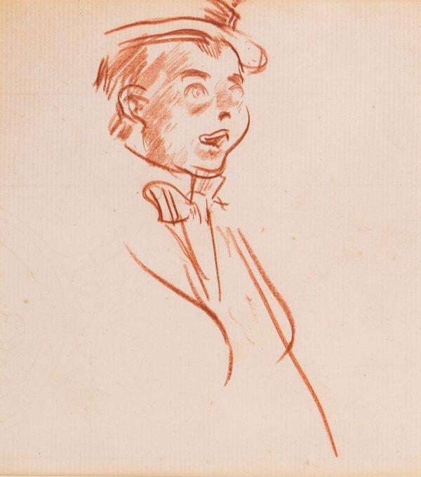 ORPEN Sir William R.A. R.H.A. (1878-1931) - 'Entertainer'.