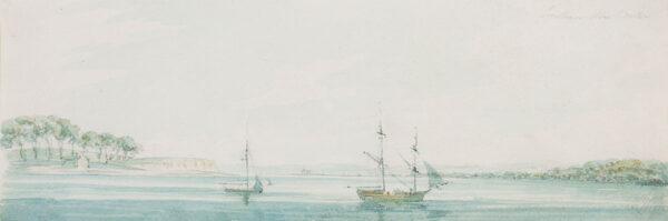 PAGET Rev. William (1775-1825) - 'Southampton Water'.