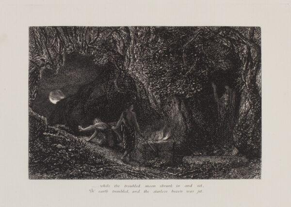 PALMER Samuel (1805-1881) - 'The Sepulchre' (L.