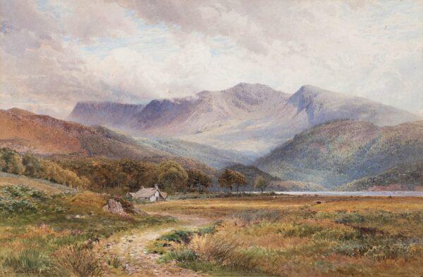 SUTTON PALMER Harry (1854-1933) - 'Coniston Water', Cumbria.