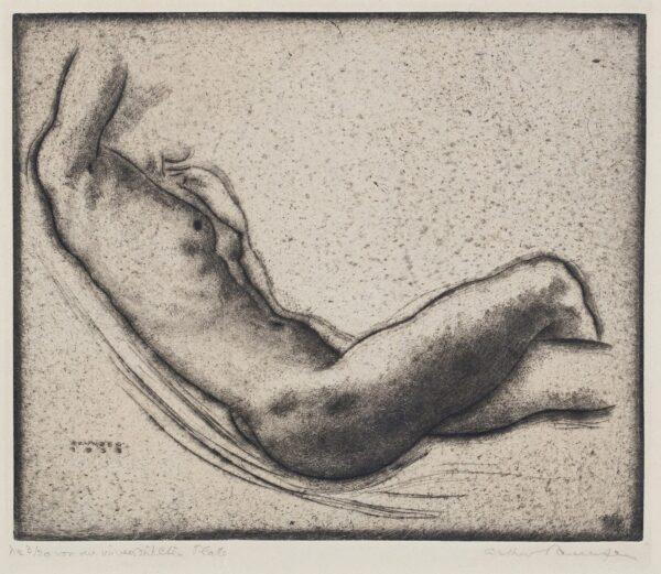 PAUZEN Arthur (1890-1940) - Reclining Nude.