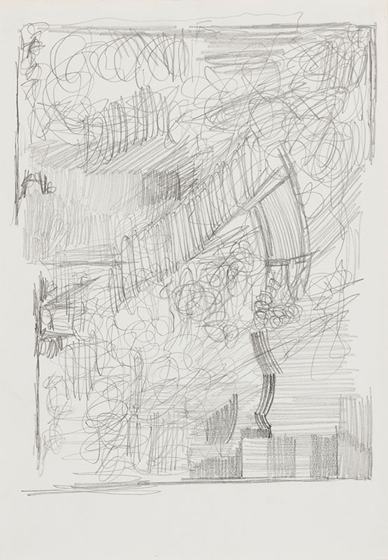 PAOLOZZI Sir Eduardo R.A. (1924-2005) - Pencil study.