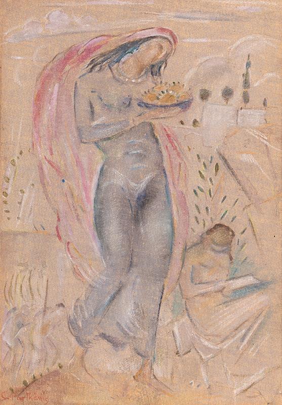 PARTHENIS Konstantinos (1878-1967) - An Offering.