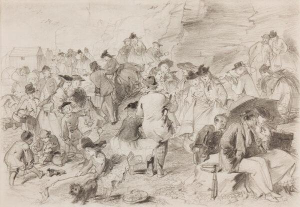 PASQUIER James Abbott (fl.1851-1872) - Bank Holiday.