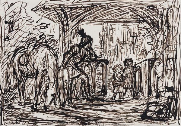PATON Sir Joseph Noel R.S.A. (1821-1901) - The Arrival.