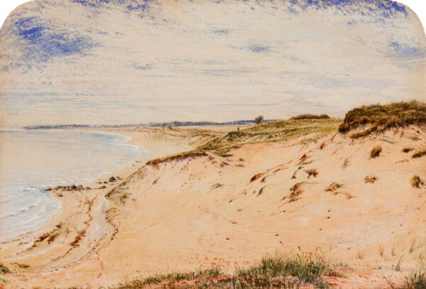 PATON Waller Hugh R.S.W. (1828-1895) - 'The Sand Dunes'.