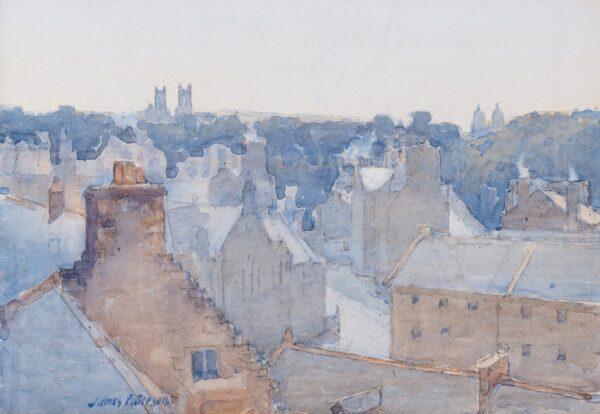 PATERSON James R.S.A. P.R.S.W. (1854-1932) - 'Edinburgh: the Dean'.