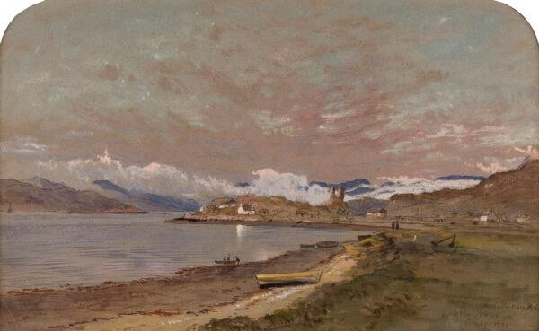 PATON Waller Hugh R.S.A. R.W.S (1828-1895) - 'Kyleakin, Skye'.