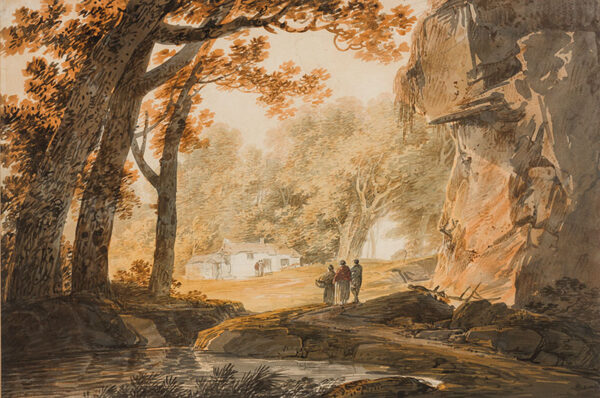 PAYNE William (1760-1830) - A West Country hamlet.