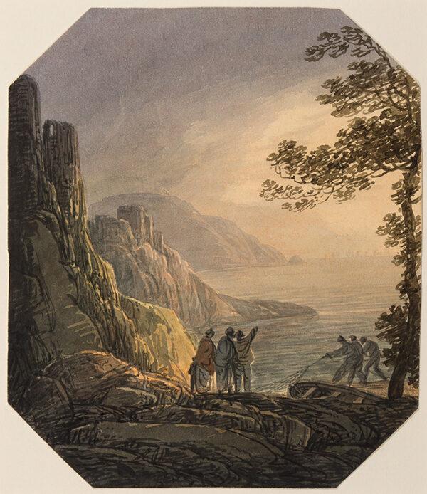PAYNE William (1760-1830) - Capriccio landscape.