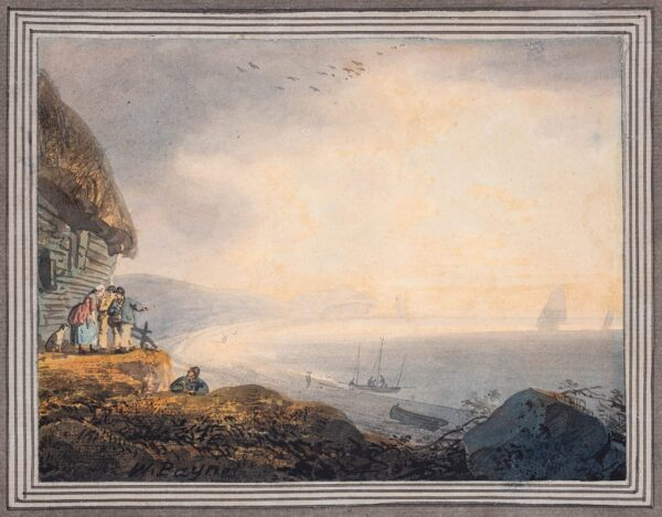 PAYNE William O.W.S. (1760-1830) - 'Budley (sic Budleigh) near Exeter'.