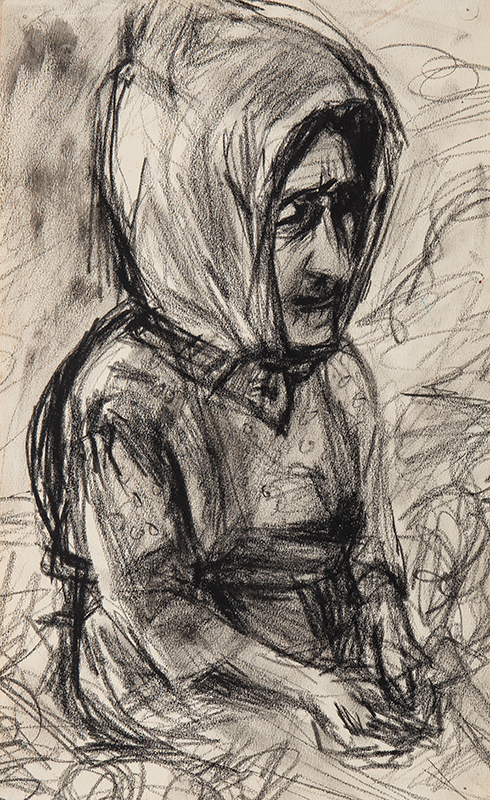 PELL Cynthia (1933-1977) - 'Angela Gros'.