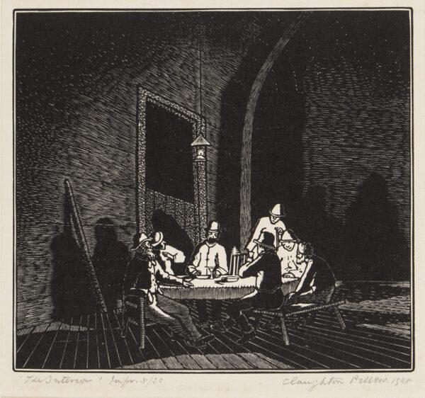 PELLEW Claughton (1890-1966) - 'The Interior'.