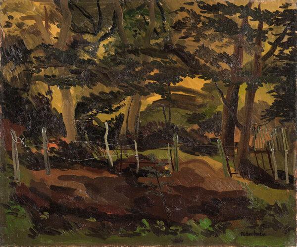 PEMBERTON Muriel R.W.S. (1909-1993) - Summer woodland.