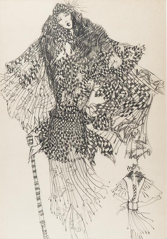 PEMBERTON Muriel R.W.S. (1909-1993) - Fashion illustration.