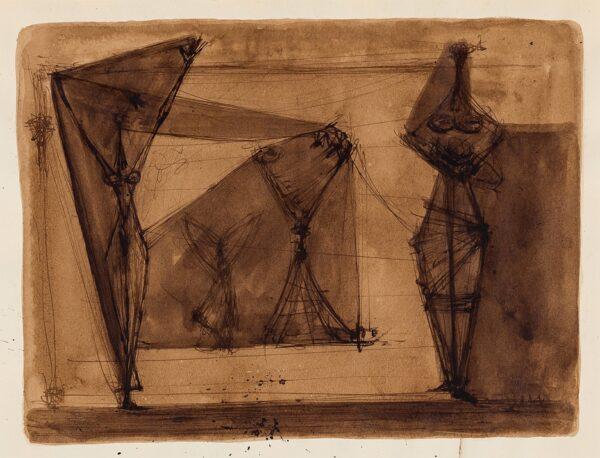 PEMBERTON John (1908-1960) - Composition Study.