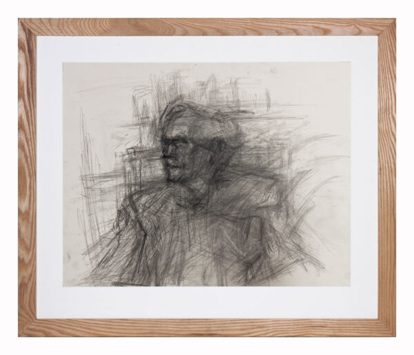 Christopher Pemberton (1923-2010) -  Hugh Trevor-Roper (Baron Dacre of Glanton) (1914-2003) Pencil.