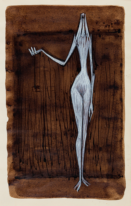PEMBERTON John (1908-1960) - Standing Figure IV Brush, ink and gouache.
