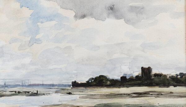PEPPERCORN Alfred Douglas I.S. (1847-1924) - Porchester Castle.