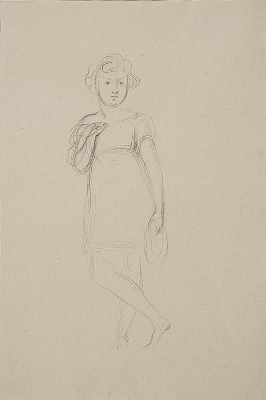 PERRONET BRIGGS Henry R.A. (1793-1844) - Portrait study.