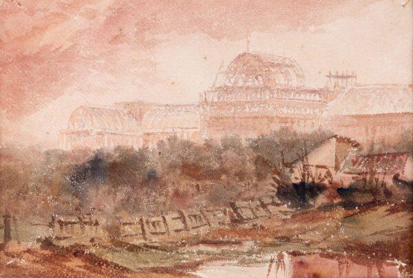 PETIT Rev. John Louis (1801-1868) - 'Syndenham': the Crystal Palace under reconstruction, 1852-1854.